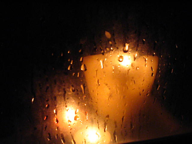 Candle in the Rain by lucally