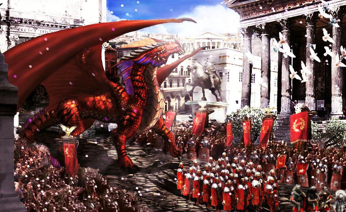 Rutilus' Triumph by Netarliargus