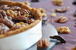 Pecan and nuts Pie
