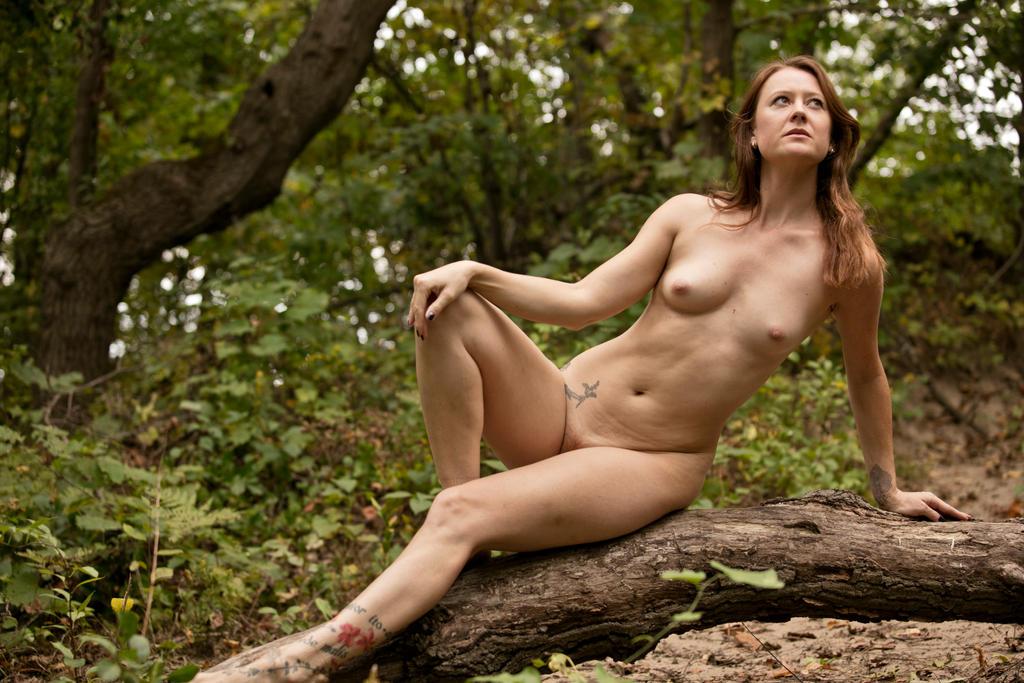 Jill in the Forest by grandart
