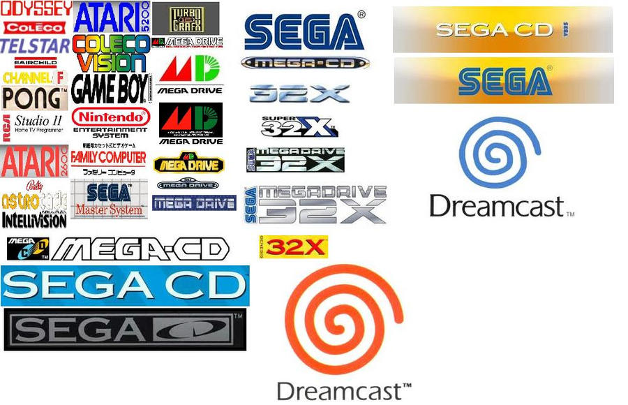 My Favourite Console Logos By Xtheunknown123182 On Deviantart
