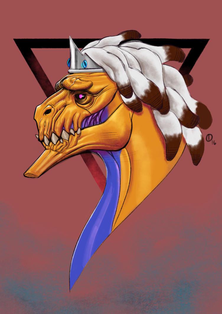 Dreaded Dragon by ioprototype