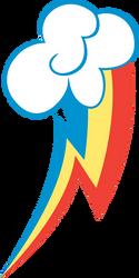 Rainbow Dash Cutie Mark by BlackGryph0n
