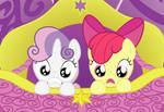 Applebloom and Sweetie Belle