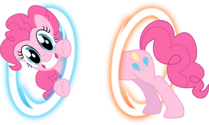 Pinkie Portal by BlackGryph0n