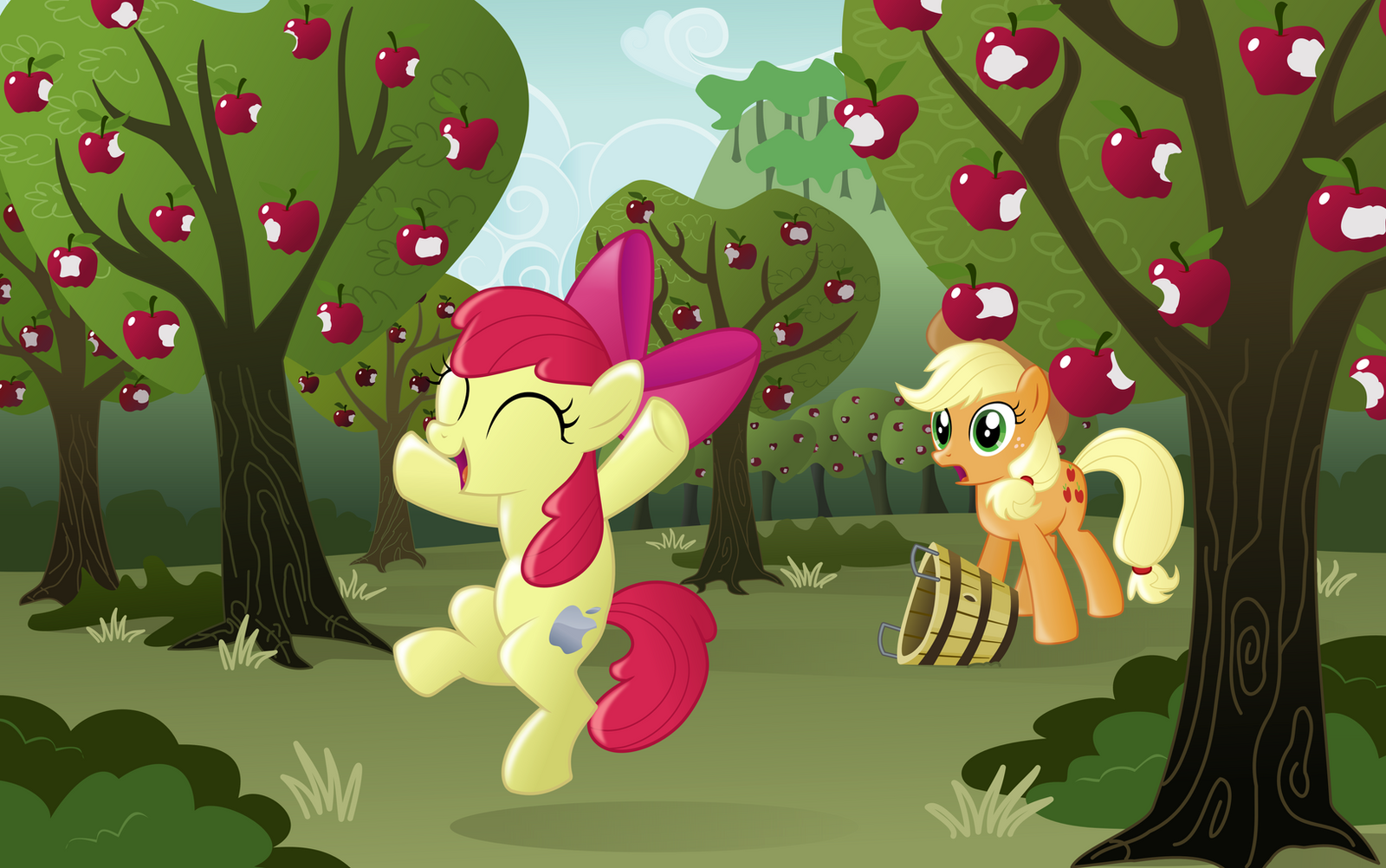 Apples Apples APPLES by BlackGryph0n