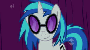 Vinyl Scratch Sees You...