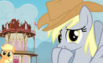 Derpy Stole Teh Episode... by BlackGryph0n
