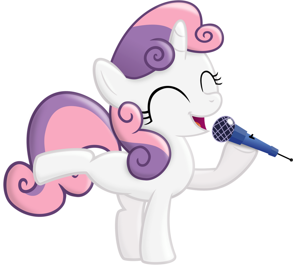 Sweetie Sing by BlackGryph0n
