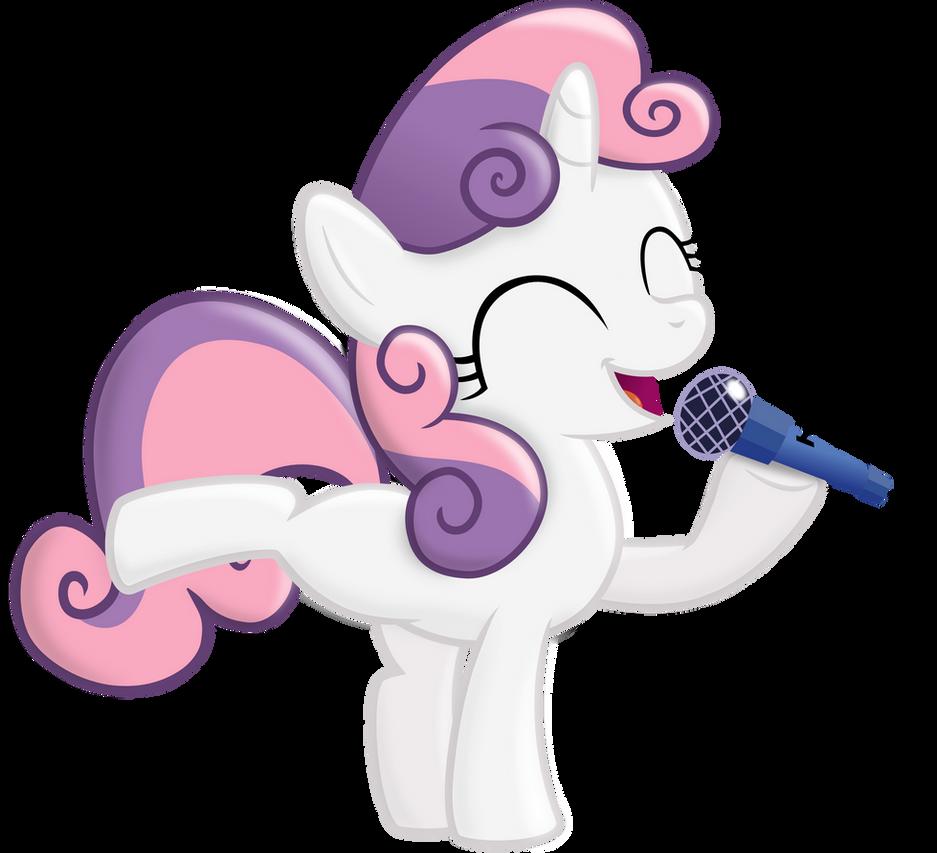 Sweetie Sing by BlackGryph0n
