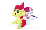 Apple Bloom and Sweetie Belle