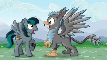 Gryph-ception! (Gryph meets Gryph)