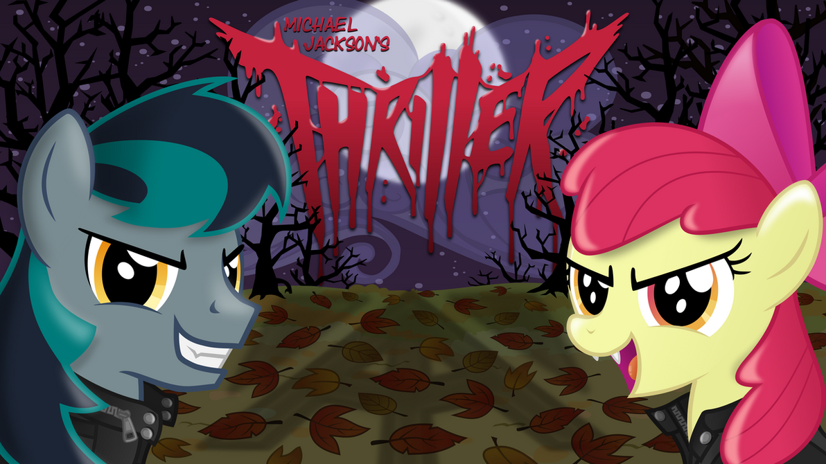 ''Thriller'' Cover (art) by BlackGryph0n