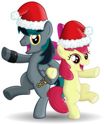 BlackGryph0n and AppleBloom (Christmas Tour)