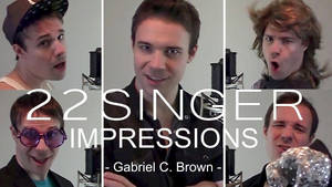 One Guy, 22 Singers. (Video) by BlackGryph0n