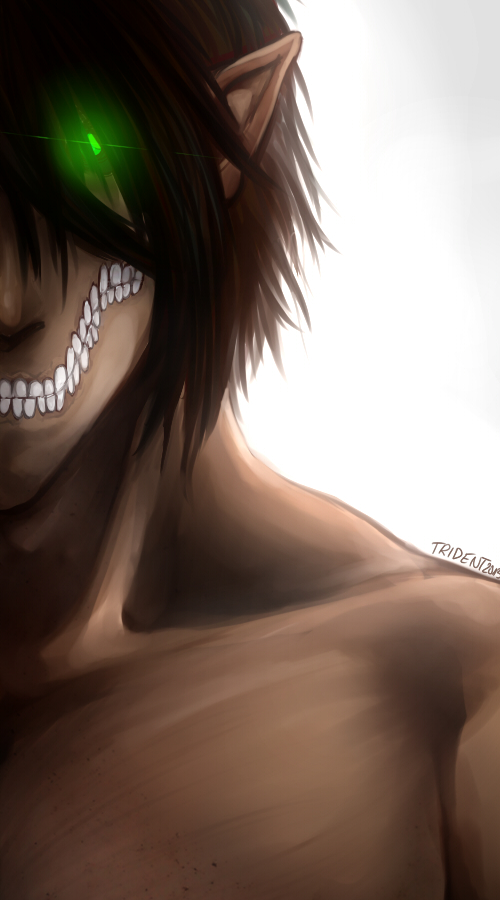 Attack On Eren by SpaceMink