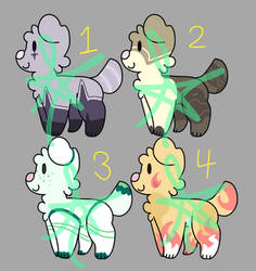 [OPEN] Puppers Adopts by Spaded-Artist