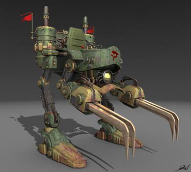 Magitek Armor Final Fantasy VI by daniellf