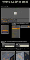 Blender 2.49 - Dice 3D by daniellf