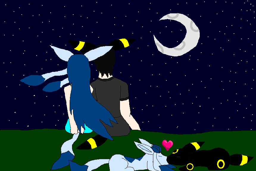 Umbreon And Espeon Love Story Glaceon and umbreon lo...