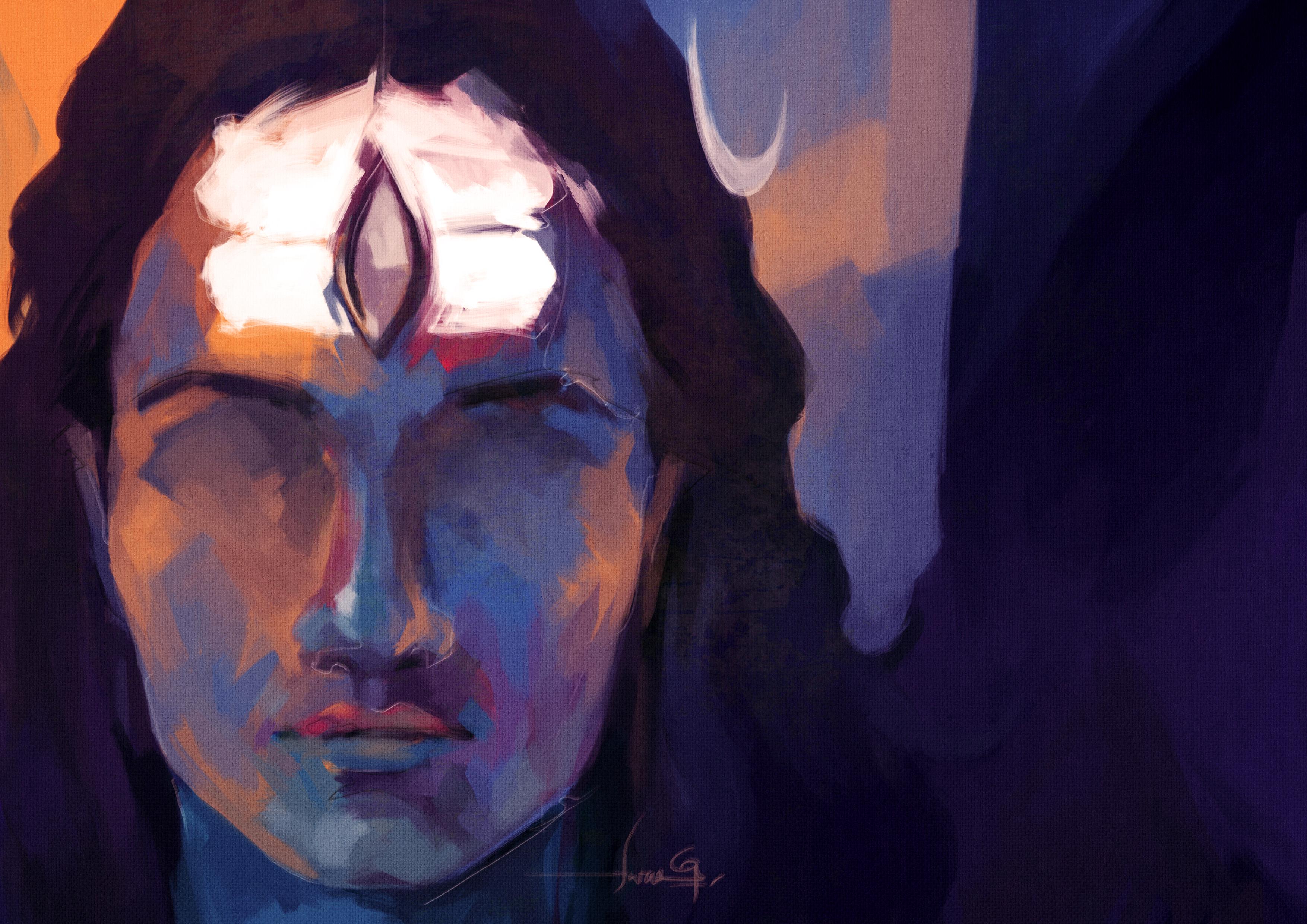 SHIVA by swarooproy