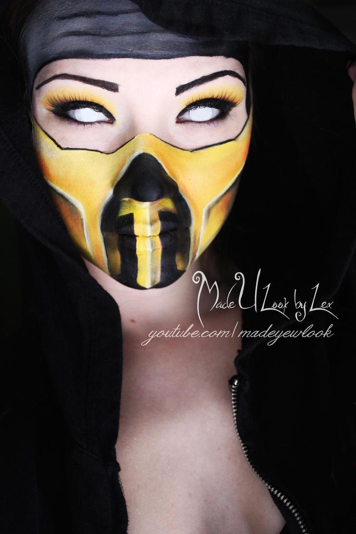 Mortal Kombat Scorpion Real Face Mortal kombat, scorpion by