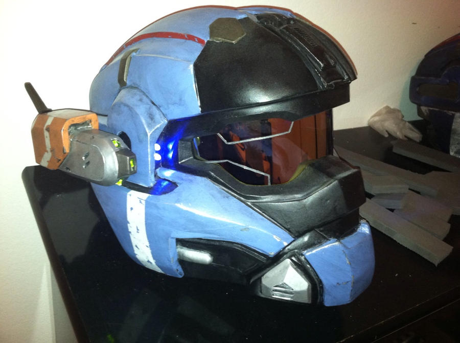 Halo reach commander helmet