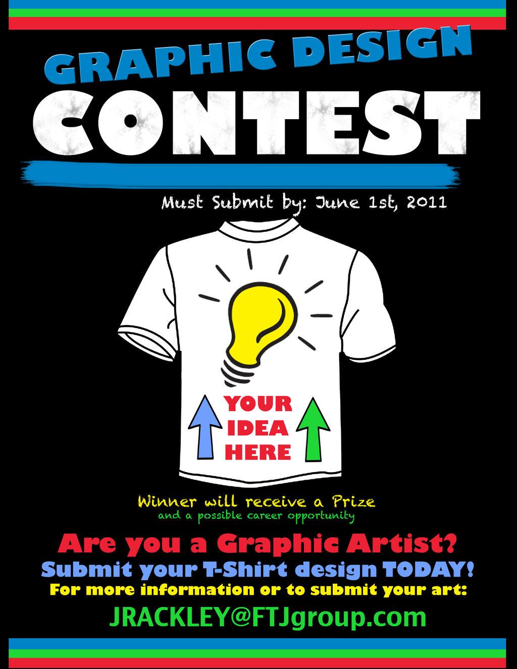 T shirt poster design -  Link