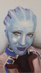 Soylent Cosplay as Liara