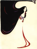 art nouveau black and red by pandora-stes