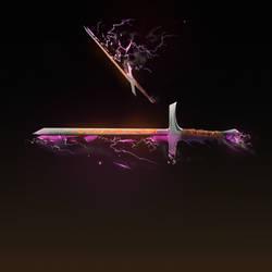 Riven sword