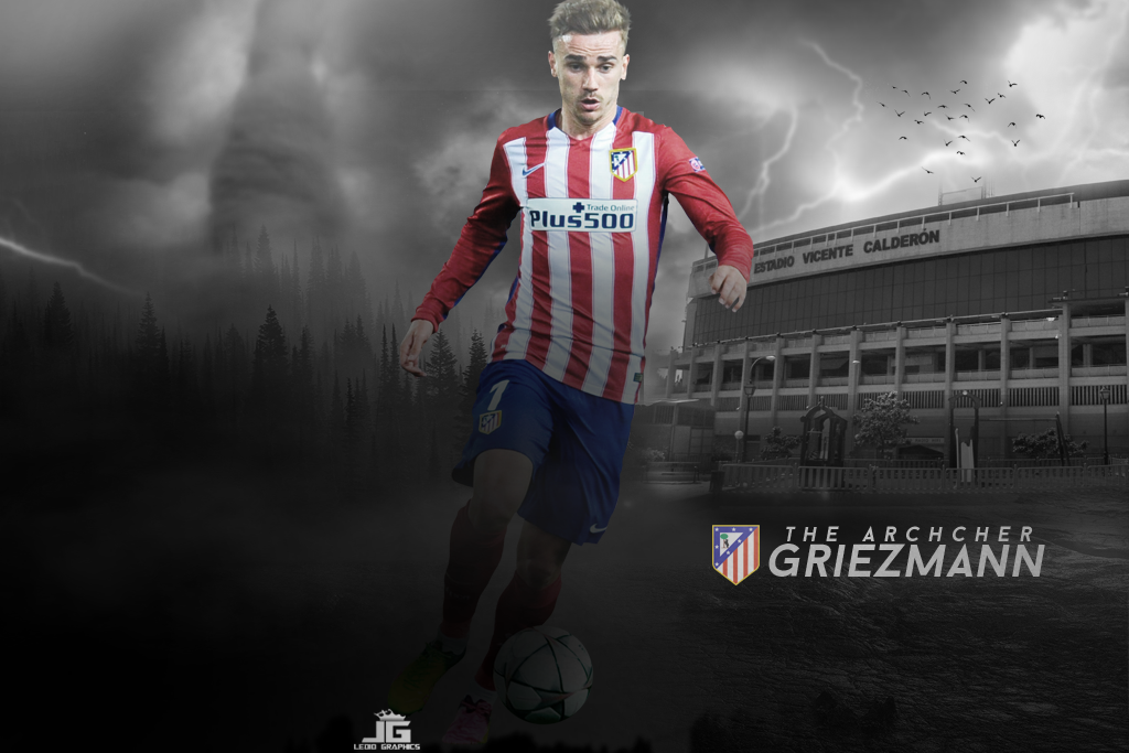Antoine griezmann wallpaper atletico madrid 2016 by ledioc10 on antoine griezmann wallpaper atletico madrid 2016 by ledioc10 voltagebd Image collections