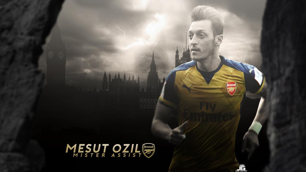 Mesut Ozil Wallpaper 2016 Arsenal - Golden Kit by ledioc10 ...