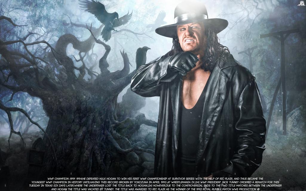 Undertaker Wallpaper The Deadman Manipulation 2016 By Ledioc10