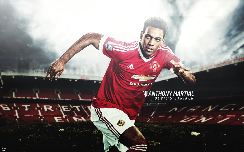 Anthony Martial Wallpaper 2016/17