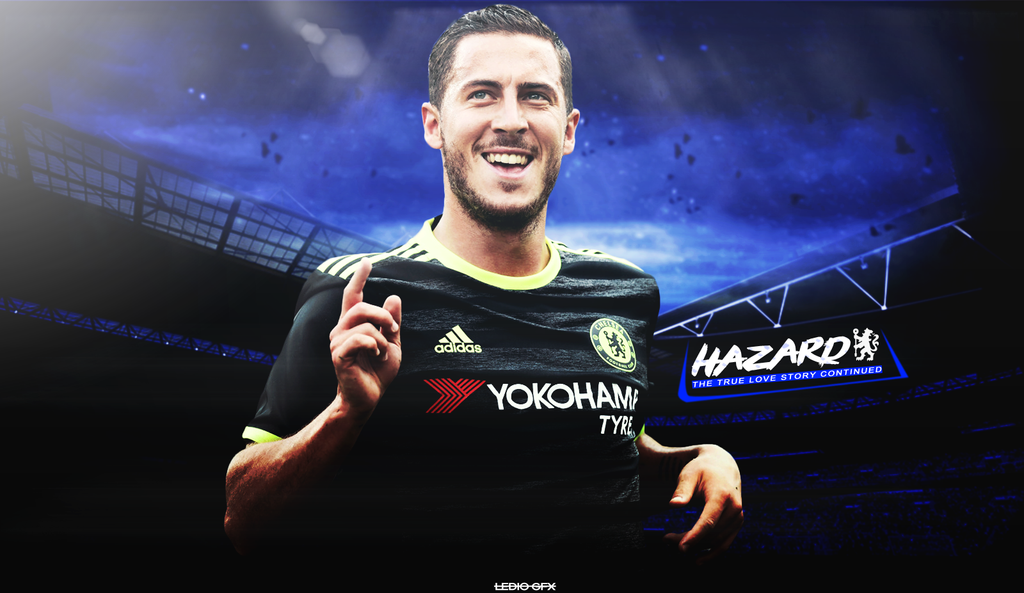 Eden Hazard Wallpaper 2016-2017 - Chelsea by ledioc10 on ...