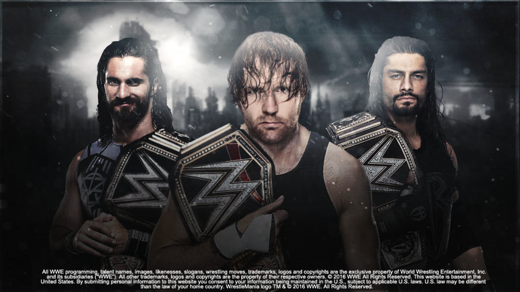 the shield wallpaper wwe tag team 201617 by ledioc10 on