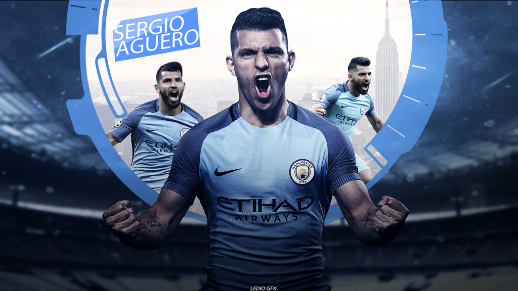 Sergio Aguero Wallpaper 201617 Manchester City By