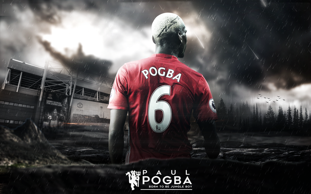 1024x640px Pogba 2018 Wallpapers