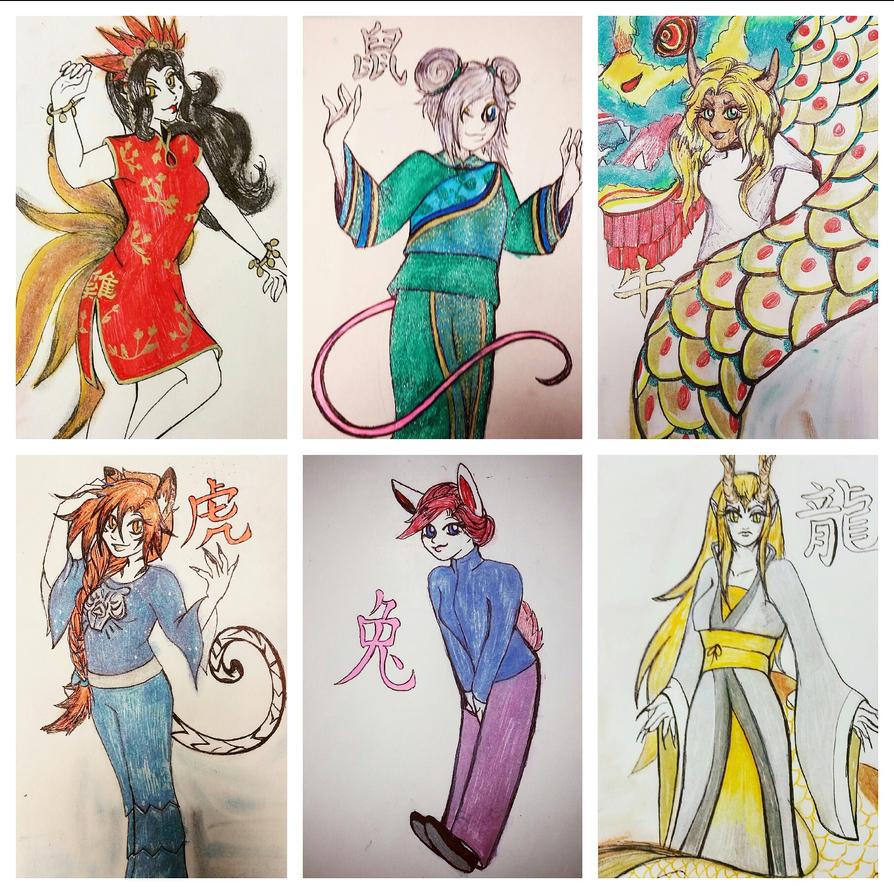 Six of the Zodiac by thundertaki