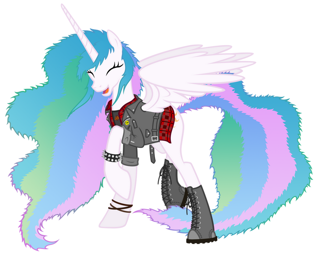 80's metal Celestia by Gabriev666