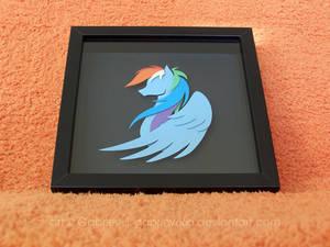 Rainbow Dash Shadowbox