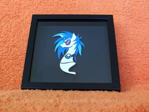 Vinyl Scratch Shadowbox