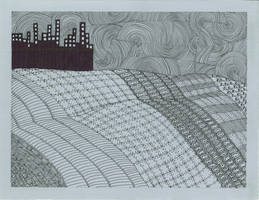 Beyond the city by vlacruz