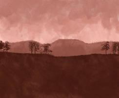 Landscape study 02 by vlacruz