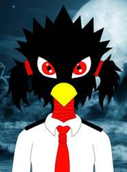 Tokoyami Fumikage Gender Bender (Full Moonlight) by ErinTesden