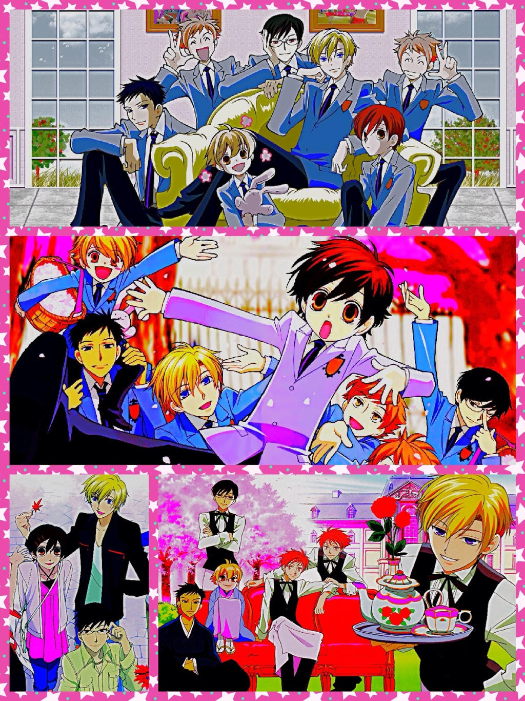 Ouran High School Host Club IPhone/IPod wallpaper by ...