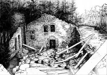 Ruiins by JakubKrolikowskiART
