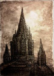Cathedral by JakubKrolikowskiART