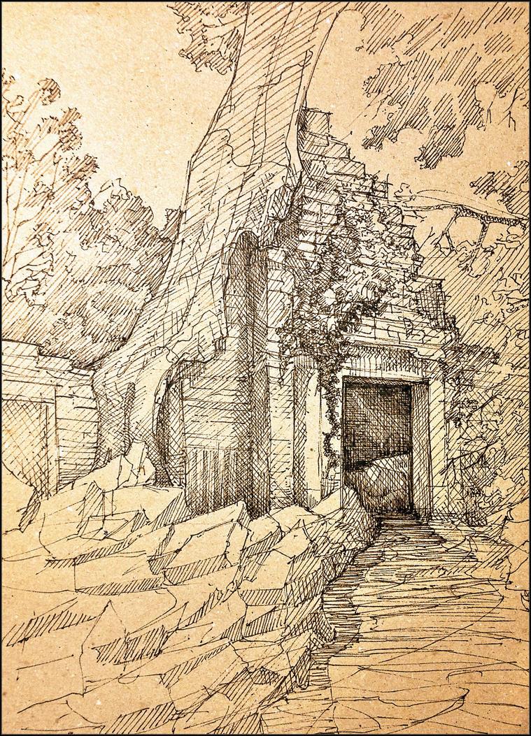 #9 Ruins by JakubKrolikowskiART
